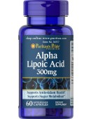 Puritan's Pride Alpha Lipoic Acid 300mg (60 капс) (60 капс)