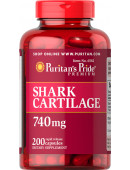 Puritan's Pride Shark Cartilage 740 mg (200 капс)