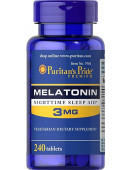Puritan's Pride Melatonin 3mg (240 капс)