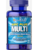 Puritan's Pride ABC Plus Multivitamin and Multimineral Formula (100 таб)