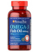 Puritan's Pride Omega-3 Fish Oil 1000 mg (250 капс)