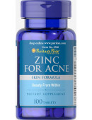Puritan's Pride Zinc for Acne (100 таб.) (0 таб)