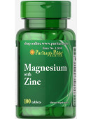 Puritan's Pride Magnesium with Zink (100 капс.) (0 капс)