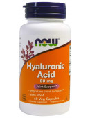 NOW Hyaluronic Acid 50 мг  (60 кап) (0 капс)